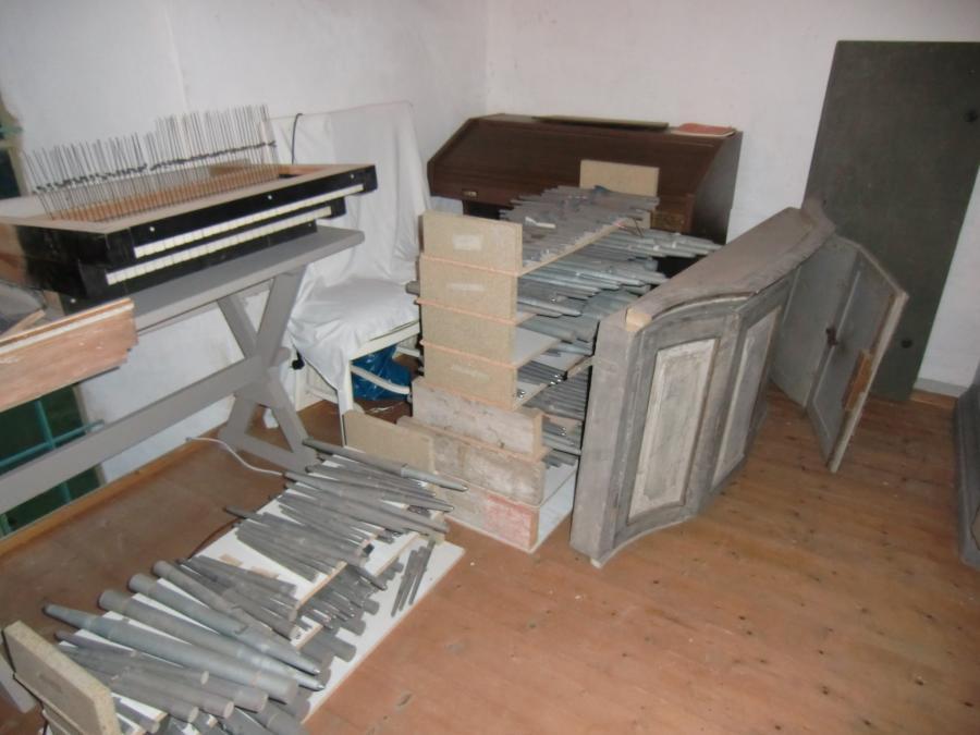 Orgelreparatur - Sanierung Kirche Osmünde