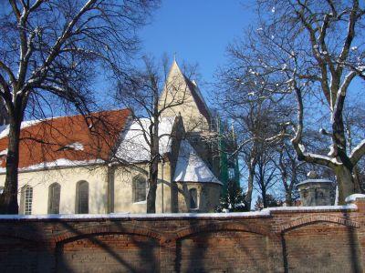 Kapelle im Winter - - Sanierung Kirche Osmünde